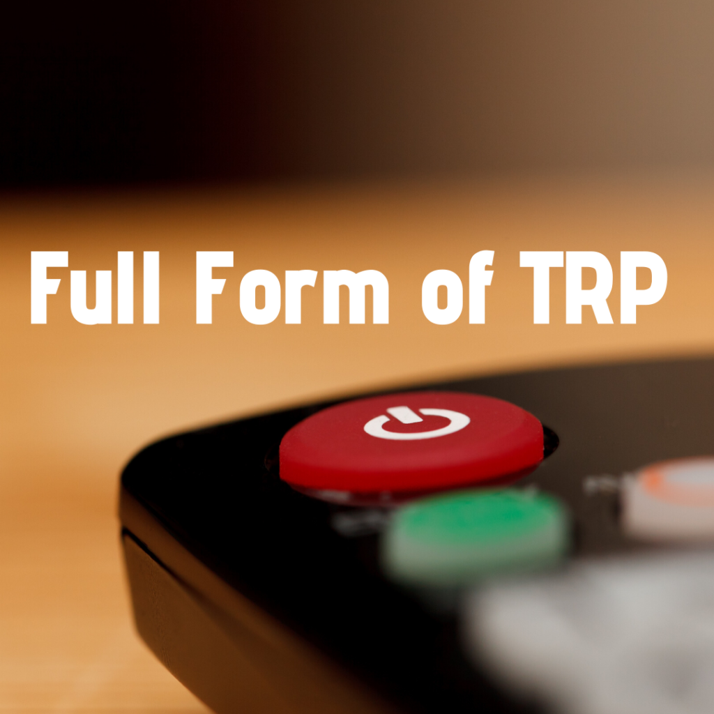 full form of trp